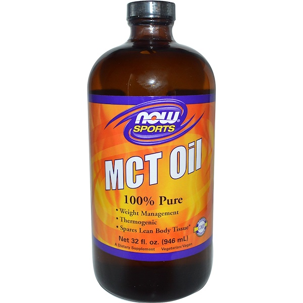 Now Foods, Sports, MCT Oil, 32 fl oz (946 ml) (Discontinued Item)