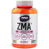 Отзывы о Now Foods, Спортивная серия, ZMA, восстановление после занятий спортом, 180капсул