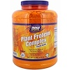 Now Foods, Sports, Plant Protein Complex, Creamy Vanilla, 6 lbs (2722 g)
