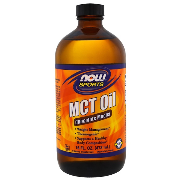 Now Foods Sports MCT オイル(チョコレートモカ)