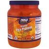 Now Foods, スポーツ、有機エンドウ豆タンパク質、ナチュラルチョコレート、1.5ポンド(680 g)