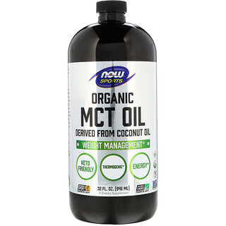 Now Foods, Sports, Organic MCT Oil, 32 fl oz (946 ml)