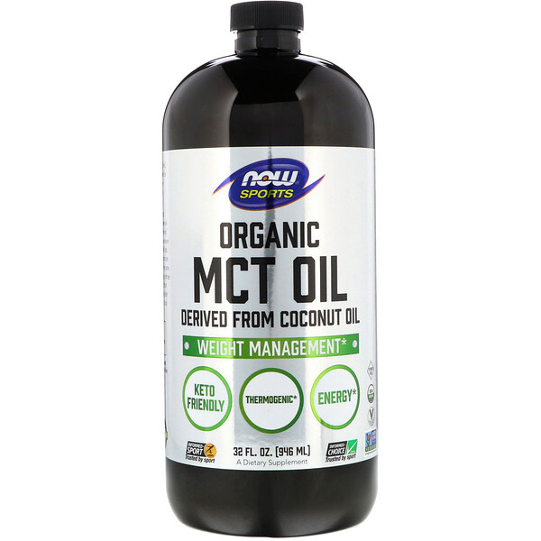 Sports, Organic MCT Oil, 32 fl oz (946 ml)