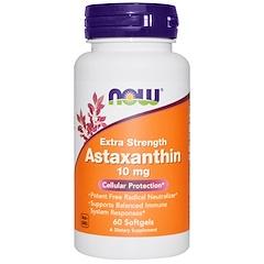 Now Foods, Astaxantin Extra Forte, 10 mg, 60 Cápsulas