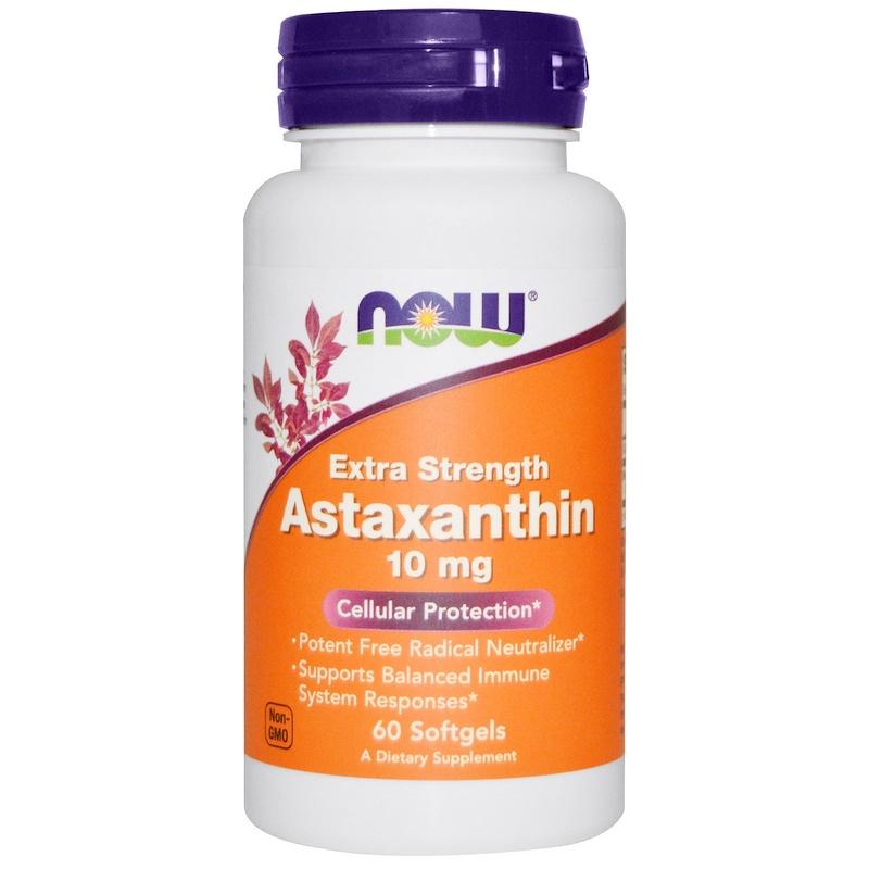 Astaxanthin, 10 mg, 60 Softgels