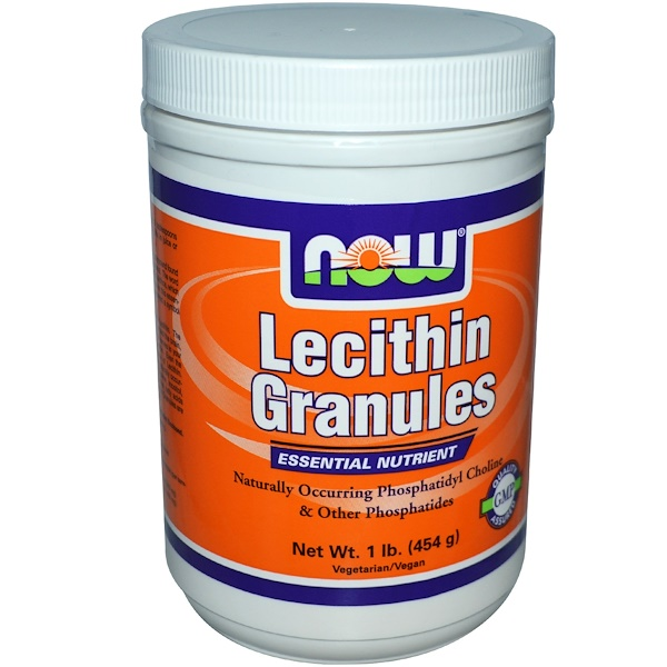 Now Foods, Lecithin Granules, 1 lb (454 g) (Discontinued Item)