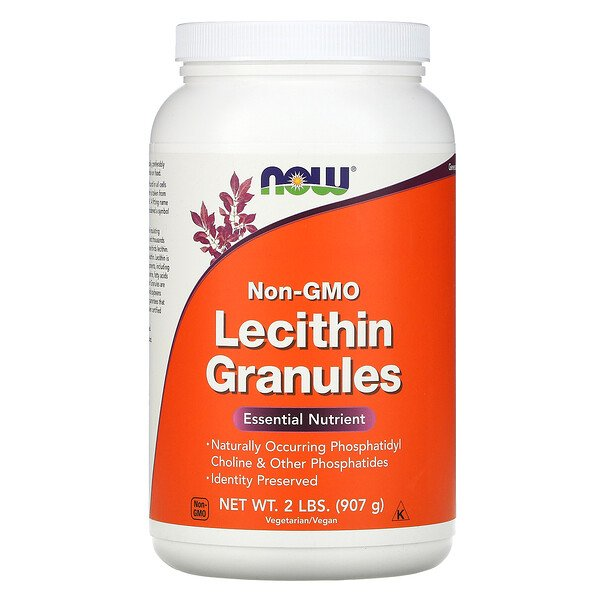 Now Foods, Lecithin Granules, Non-GMO, 2 lbs (907 g)