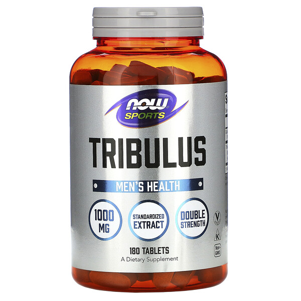 Now Foods, Sports, Tribulus, 1.000 mg, 180 Comprimidos