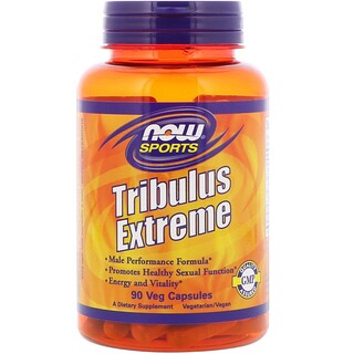 Now Foods, Sports, Tribulus Extreme, 90 cápsulas vegetales