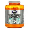 Now Foods, Sports, Whey Protein Concentrate Protein Powder, Unflavored, 5 lbs (2268 g)