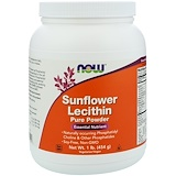 Now Foods, Sunflower Lecithin, 1,200 mg, 200 Softgels - iHerbcheckoutarrow