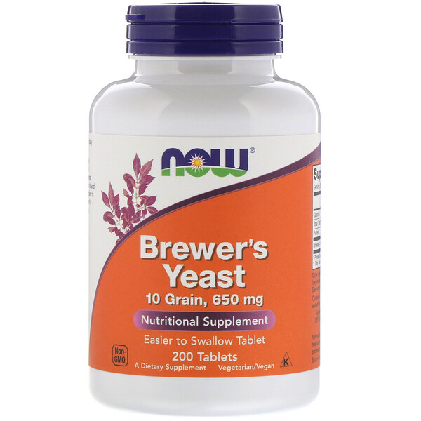 Brewer's Yeast, 200 Tablets