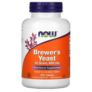Now Foods, Brewer's Yeast, 200 Tablets отзывы покупателей