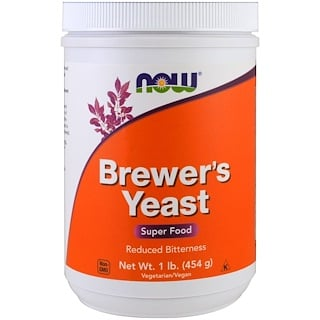 Now Foods, Brewer's Yeast, 수퍼푸드, 1 lb (454 g)