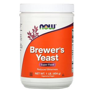 Now Foods, Brewer's Yeast, Super Food, 1 lb (454 g) отзывы покупателей