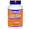 Now Foods, Liver Caps, 100 Capsules