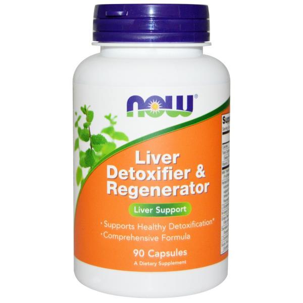 Now Foods, Entgiftung und Regeneration der Leber, 90 Kapseln