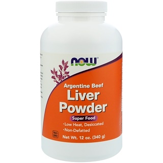 Now Foods, Liver Powder(肝臓粉), 12オンス (340 g)