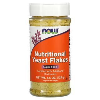Now Foods, 영양 효모 플레이크, 4.5 oz(128 g)