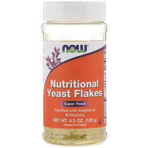 Now Foods, Nutritional Yeast Flakes, 4.5 oz (128 g) отзывы покупателей