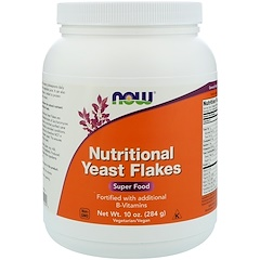 Now Foods, Nutritional Yeast Flakes، 10 أوقية (284 ج)