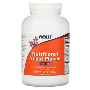 Now Foods, Nutritional Yeast Flakes, 10 oz (284 g) отзывы покупателей
