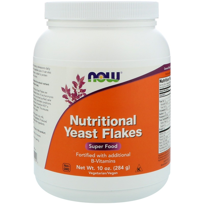 Nutritional Yeast Flakes, 10 oz (284 g)