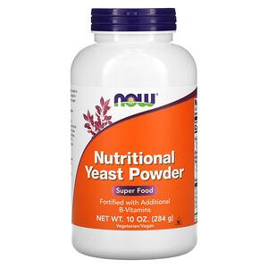 Now Foods, Nutritional Yeast Powder, 10 oz (284 g) отзывы покупателей