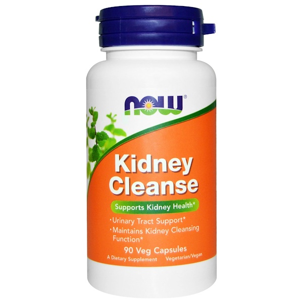 Now Foods, Kidney Cleanse, 90 Veg Capsules