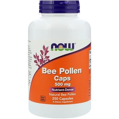 цена на Капсулы с пчелиной пыльцой, 500 мг, 250 капсул