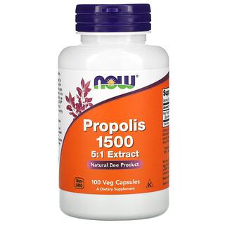 Now Foods, Propolis 1500, 100 Veg Capsules