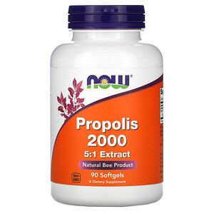 Now Foods, Propolis 2000, 90 Softgels отзывы