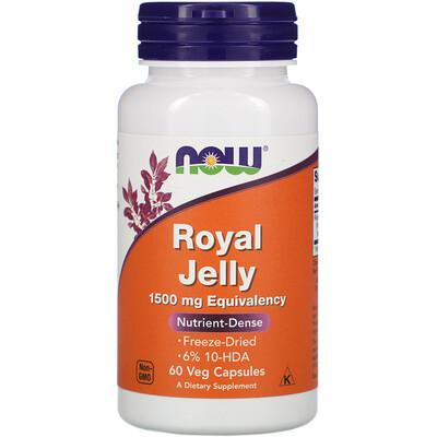 Фото - Royal Jelly, 1,500 mg, 60 Veg Capsules hyaluronic acid 50 mg 60 veg capsules