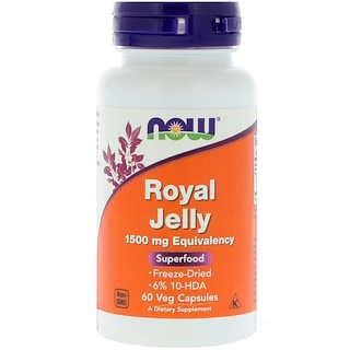 Now Foods, Royal Jelly, 60 كبسولة