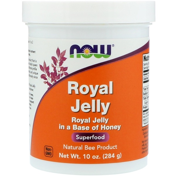 Now Foods, Royal Jelly, 10 oz (284 g)