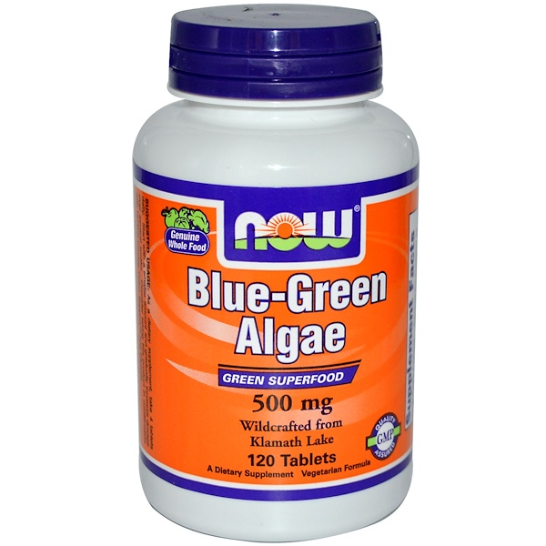 Now Foods, Blue-Green Algae, 120 Tablets (Discontinued Item)