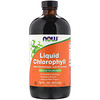 Now Foods, Liquid Chlorophyll, Mint Flavor, 16 fl oz (473 ml)