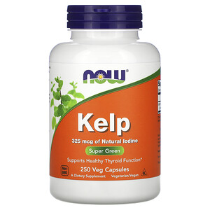 Now Foods, Kelp, 250 Veg Capsules отзывы