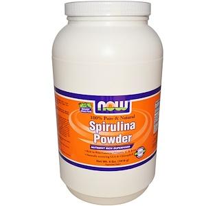 Now Foods, Spirulina Powder, 100% Pure & Natural, 4 lbs (1814 g) отзывы покупателей