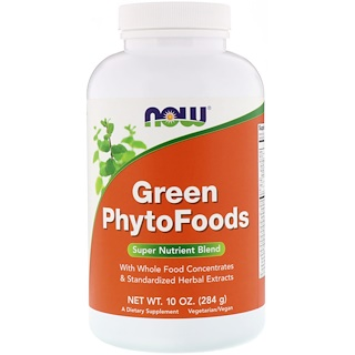 Now Foods, Green Phytofoods, 10 oz (284 g)