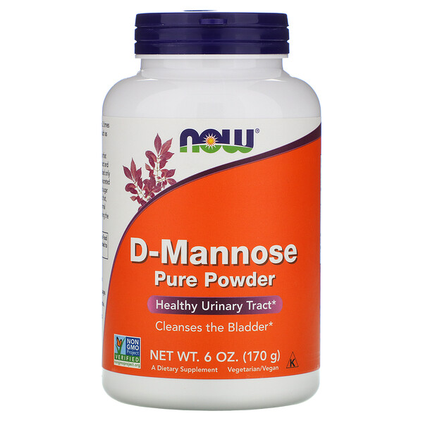 D-Mannose Pure Powder, 6 oz (170 g)