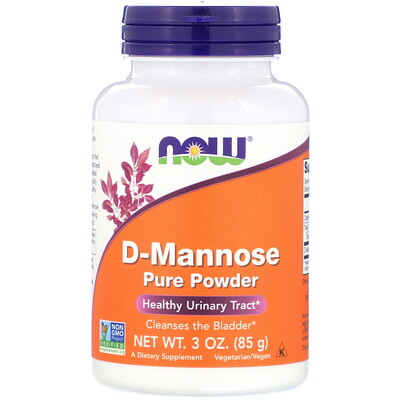 Чистый порошок D-маннозы, 85 г (3 унции) стоимость