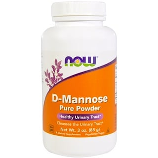 Now Foods, D-Mannose, reines Pulver, 3 oz. (85 g)