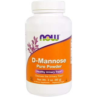 Now Foods, D-Mannose Pure Powder, 3 oz (85 g)