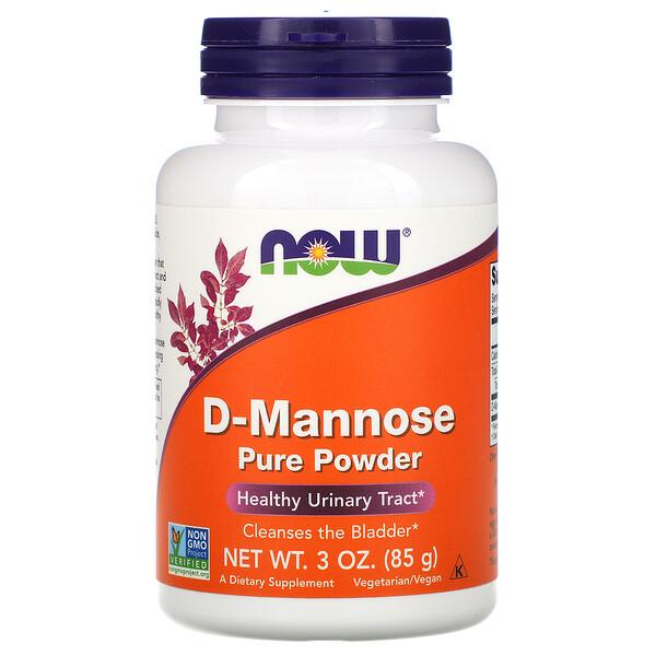 D-Mannose Pure Powder, 3 oz (85 g)