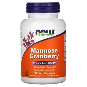 Now Foods, Mannose Cranberry, 90 Veg Capsules отзывы покупателей