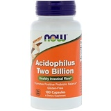 Отзывы о Now Foods, Ацидофилин 2 млрд, 100 Капсул