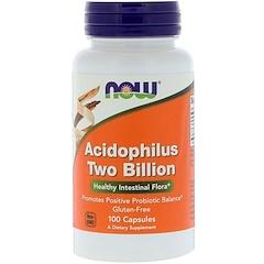 Now Foods, アシドフィルス、20億、100 錠