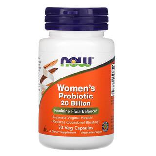 Now Foods, Woman's Probiotic , 20 Billion, 50 Veg Capsules