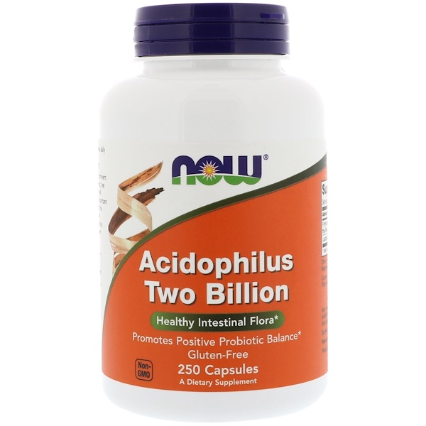 Acidophilus Two Billion, 250 Capsules